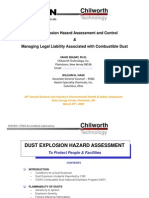 Dust Explosion Hazards