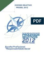 Manual Prosel 2012