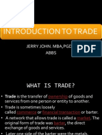 Trade Introdution