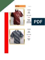 Katalog Batik Pria 3 Nopember 2011
