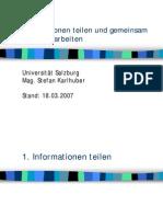 Publikation & Zusammenarbeit 03_2007