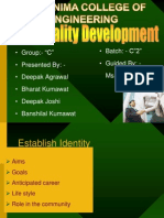 Personality Development (1) Modified