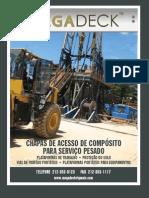 MegaDeck Rig Mat Brochure Portuguese Nov2011