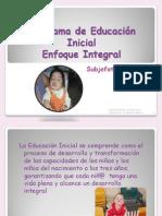 Curso de Educación Enfoque Integral