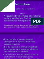 Organizational Structure - DAK PPT1