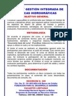 DIPTICO Manejo y Gestión Integrada de Cuencas Hidrográficas 2011