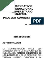 Procesos Administrativos.