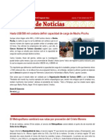 CAP Regional Lima - Resumen de Noticias 27 10 2011