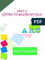 UNIT 3_Major Details