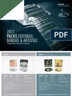 Packs Editoras Bandas Artistas 2011