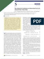 Direct Conversion of Bio Ethanol to Isobutene