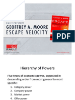 Geoffrey Moore - Escape Velocity - Presentation Slides