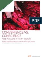 Convenience vs Conscience