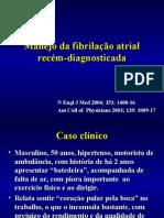 Manejo Da FA Recém-Diagnosticada
