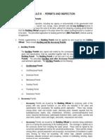 Rule III Permits&Inspection
