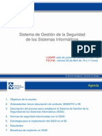 Gestion de Ls Seguridad a