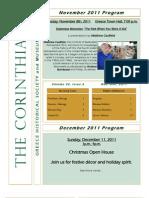The Corinthian November/December 2011