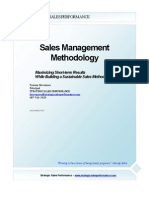 Sales Management Methodology