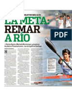 Canotaje en La Presa La Boca