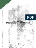 Documento Historico Del Mes de Noviembre