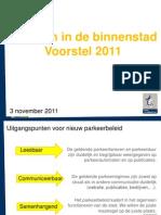 presentatie parkeren 2011
