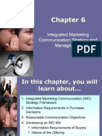 Chpt 006 - Integrated Marketing Communication Strategy and Management