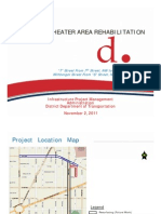 DDOT Presentation on Howard Theater Streetscape