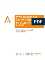 Stop Rolling the Dice With Audits