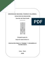 proyecto EDUCACIÓN PARA EL TRABAJO MARH_101208
