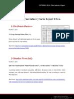 EE.UU. October 2011 Wine Industry Report