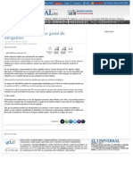 03-11-11 EL UNIVERSAL - Pide Cano Vélez al  IFE sancione cualquier tipo de irregularidad en el gasto de los partidos políticos