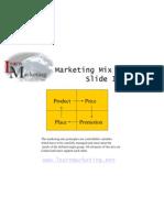 Marketing Mix Slides
