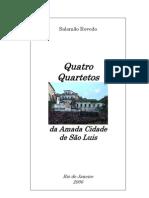 Salomão Rovedo 4 Quartetos (Poesia)