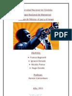 Trabajo de Musica - Jazz y Tango