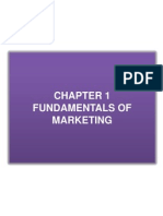1.Chapter 1 Fundamentals of Marketing