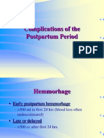 47349097 Postpartum Complications
