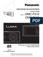 Manual Panasonic Fx10