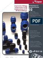 PP Compression Fittings
