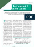 Como Hacer Una Auditoría De Seguridad (Informática)