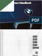 BMW E34 ETM | Switch | Ignition System