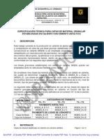 Especificacion Tecnica Capas Material Granular
