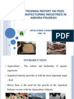 A Training Report on Feed Manufacturing Industries in Andhra Pradesh