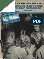 All Hands Naval Bulletin - Feb 1945