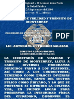 Programa de Prevencion de Accidentes Viales