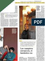 entrevista de Matías Néspolo en El Mundo