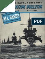 All Hands Naval Bulletin - Mar 1945