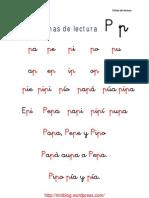 fichas-de-lectura-letra-p