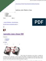 Aprenda como clonar HD » Infodias Tecnologia