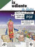 Voix étudiante du Québec -  Novembre 2011