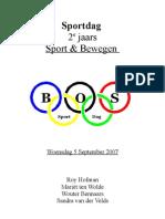 sportdag draaiboek